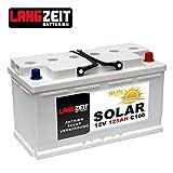 Versorgungsbatterie 12V 125Ah Marine Boot Antrieb Wohnmobil Solar Batterie 100AH