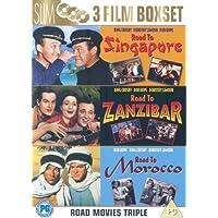 Road To Zanzibar/Road To Morocco/Road To Singapore [DVD] by Bob