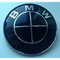 BMW NERO 45 mm volante adesivo di ricambio Badge emblem- by goodealshop