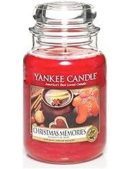 Yankee Candle vela en tarro, recuerdos de Navidad, large
