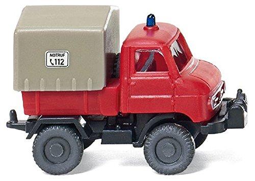 Wiking 097202 - Feuerwehr Unimog U 411 (1:160, Spur N)