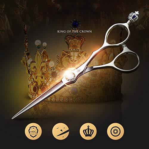 6.5 pouces en acier inoxydable 440C japonais haut de gamme coiffeur ciseaux de coiffure professionnels coiffeur outils spéciaux,6.5inch