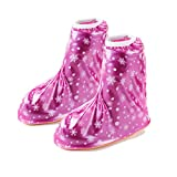 KVbaby Enfant Réutilisable Couvre-chaussures Imperméable Pluie Neige Protection Antidérapante Chaussures Housses