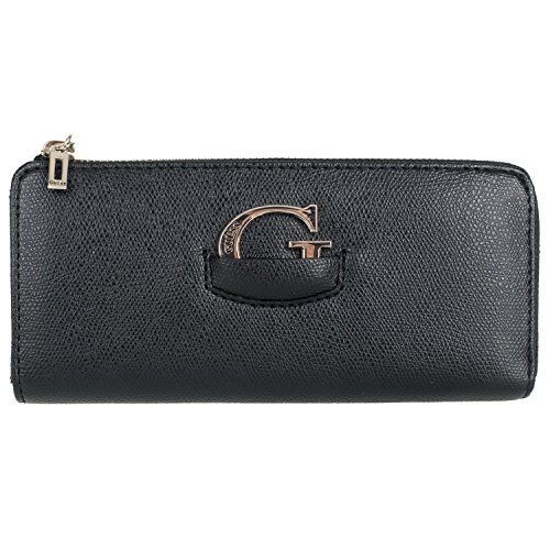 Guess Lexxi SLG Slim Zip Wallet V6484520 Damen Geldbörse 20x10x2cm black (Wallet Slim Zip)