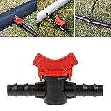 Manyo, collegamento a 2 vie, in plastica, adatto per l'irrigazione, per rubinetto da giardino, tubo dell'acqua, interruttore a valvola