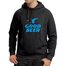 N4058H Sweatshirt à capuche manches longues I need a Good BEER