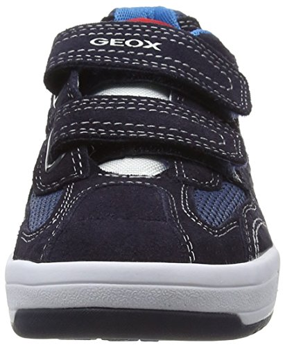 Geox J Rolk Boy A Jungen Low-Top Blau (NAVY/OFF WHITEC0836)
