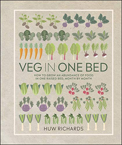 Veg in One Bed: How to Grow an Abundance of Food in One Raised Bed, Month by Month (English Edition)