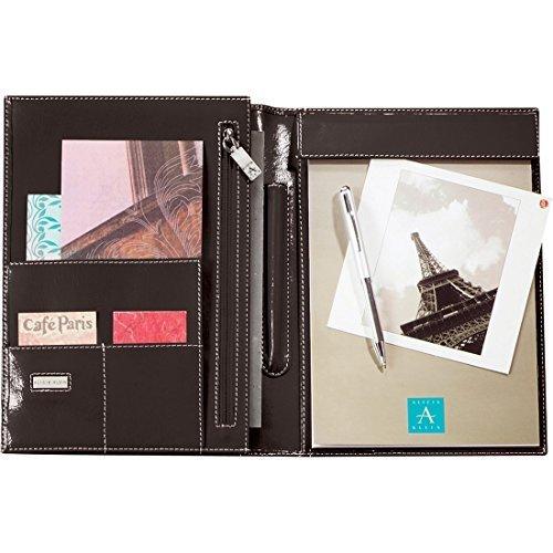 Alicia Klein Deluxe Jr. Padfolio Writing Memo Pad - Black by Alicia Klein - Deluxe Padfolio