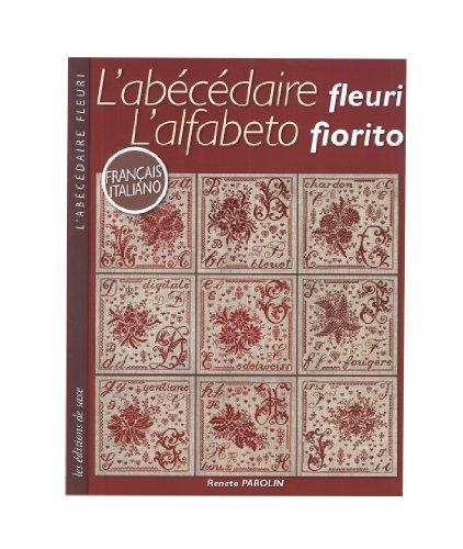L'abécédaire fleuri : Edition français-italien