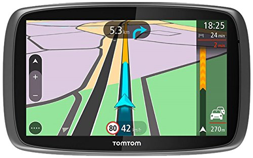 TomTom Trucker 600012,7cm Camion GPS Système de Navigation par satellite K, roi et Full Europe Cartes–Gris