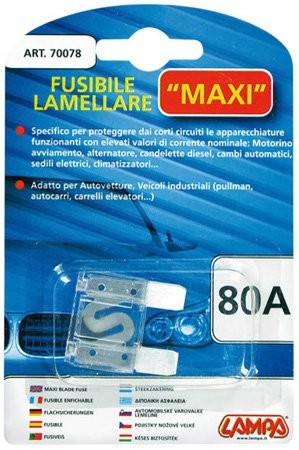 Preisvergleich Produktbild Lampa 70078Sicherung Leimholz Maxi