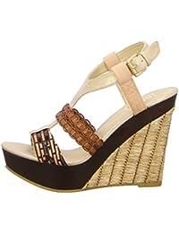 BULLBOXER 282003 BROWN - Sandalias de vestir para mujer