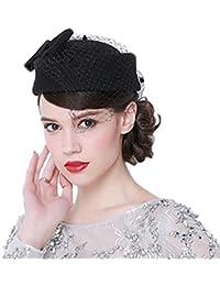 Chapeau Pillbox Serre-Tête Casquette De Cérémonie Femme Fille Élégant Raffiné