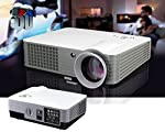 Inditradition RD-801 LED Home Projector | Full HD Video Projector 1080P, 2000 Lumen Home Theater | HDMI, USB, AV, Inbuilt...