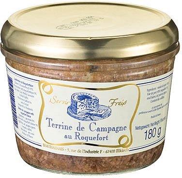 Terrine de Campagne au Roquefort 180 g