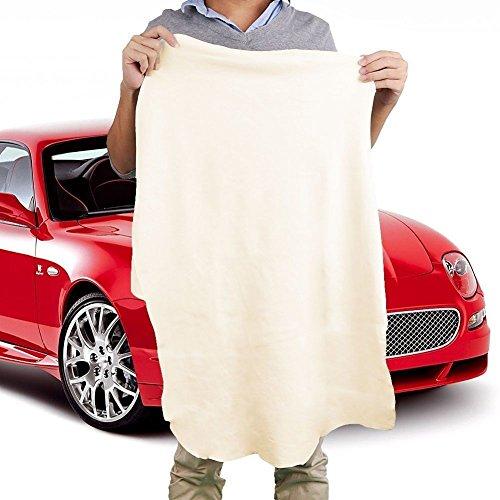 Di-Daino-naturale-di-cuoi-e-pelli-scamosciati-auto-asciugamani-pulizia-asciugatura-panno-lavaggio-nuovo