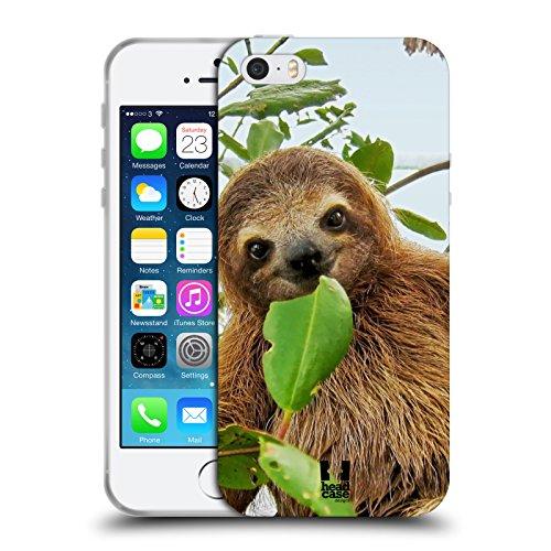 Head Case Designs Deux Tigres Blancs Animaux Célèbres Étui Coque en Gel molle pour Apple iPhone 6 Plus / 6s Plus Paresseux Aï