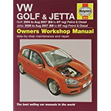 VW Golf and Jetta Petrol and Diesel Service and Repair Manual: 2004 to 2007 (Haynes Service and Repa by A.K. Legg (2007-05-04)
