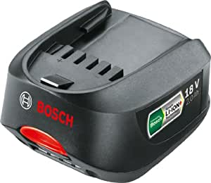 Bosch 2.0 Ah Lithium-Ion 18 V Battery (Compatible for All Tools in the 18 V Power for All System)