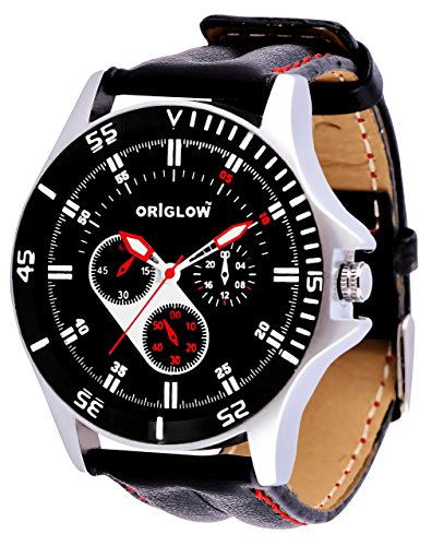 Origlow Accessories Analogue Black Dial Men\'s Watch M1