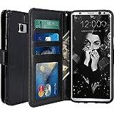 SCOTT-FRANCE Housse Samsung Galaxy S8 Plus, Housse Coque Etui de Luxe Portefeuille...