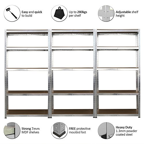 panana-3x-18m-warehouse-5-tier-racking-shelf-heavy-duty-steel-garage-shelving-unit-180x90x40cm-silve