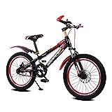 Gehärteter Rahmen Kind Fahrrad männlichen und weiblichen Kinderwagen 16-Zoll-Mountainbike 5-8 Jahre alt Fahrrad ( Color : Red )