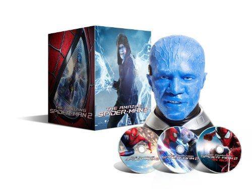 The Amazing Spider-Man 2: Das Schicksal eines Helden - Blu-ray 3D + Blu-ray + DVD + Digital Ultraviolet - Coffret Collector Druckkopf Electro - Limitierte Edition exclusive Amazon. fr (Amazing Spiderman 2 Electro)
