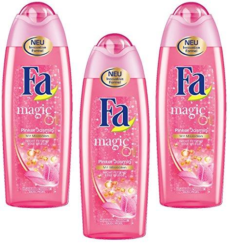Fa Duschgel Magic Oil Pinker Jasmin (3 x 250ml)