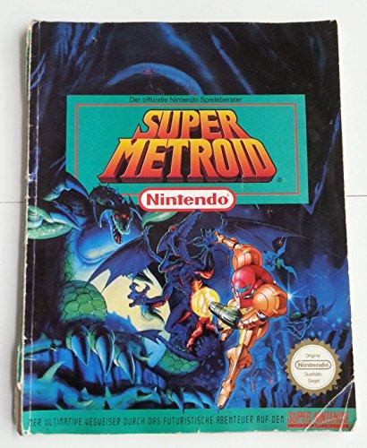 a 1x Offizielles Lösungsbuch / Offizieller Spieleberater für SNES Super Nintendo Spiel: Super Metroid (deutsch) (Super Nintendo Metroid)