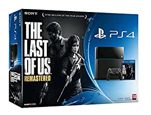 Console PS4 500 Go Noire + The Last of Us Remastered