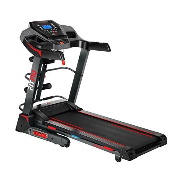 FITFIU Fitness MC-500 - Tapis roulant pieghevole inclinazione automatica, display LCD e cardiofrequenzimetro, Motore… 1 spesavip