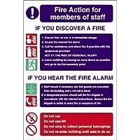 Fire Action Für Mitarbeiter Registrieren Starre. 300x200mm. preisvergleich bei billige-tabletten.eu