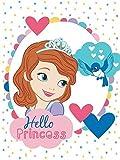Plaid Prinzessin Sofia Disney 75x 100cm