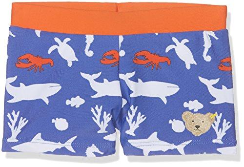 Steiff Baby-Jungen Badehose Schwimmshorts, Blau (Dazzling Blue 3088), 68 (Herstellergröße:68)