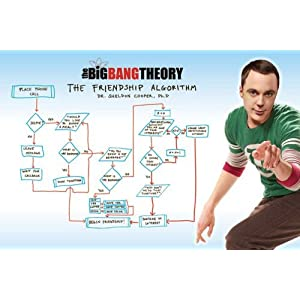 Empireposter - Big Bang Theory, The - Friendship Algorithm - Größe (cm), ca. 91,5x61 - Poster