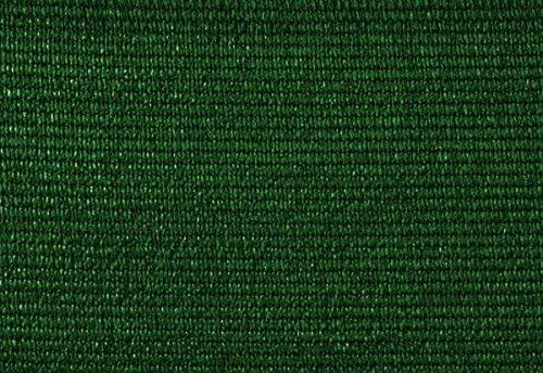 PEGANE Brise Vue, Toile HDPE 300gr au m2 en PVC Double Face en Rouleau de 3 m Coloris Vert, 1,50 m x 25 m