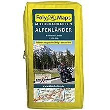 FolyMaps Motorradkarten Alpenländer: 1:250 000