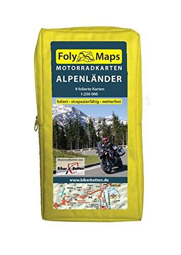 FolyMaps Motorradkarten Alpenländer: 1:250 000 Test