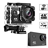 #9: Teconica 16MP Ultra HD 4K Wi-Fi Waterproof Sports Camera with 2 Inch Display Compatible with All Android, iOS & Windows Device (Random Colour)