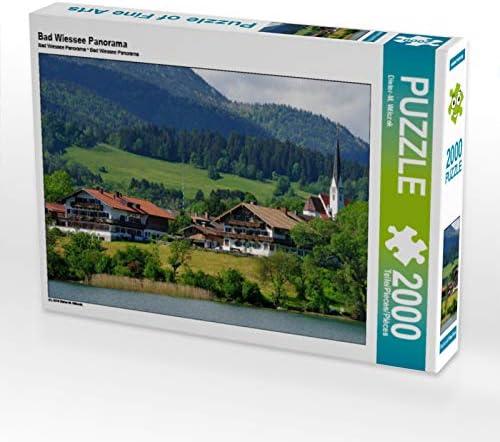 CALVENDO Puzzle Bad Wiessee Panorama 2000 Teile Lege-Grsse 90 x 67 cm Foto-Puzzle Bild Von Wilczek Dieter-M. | De Qualité Supérieure