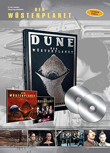 Dune - Der Wüstenplanet - Limited Lederbuch 125er Edition - 2 Blu-Ray Box