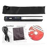 Skypix TSN410 Portable Handheld Scanner Cordless 900DPI Resolution - A4 Color Photo Document