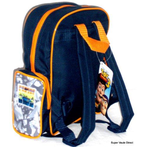 Disney Pixar Toy Story Backpack – Toddler School Bag Size with Two Side Pocket