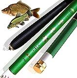laselectionfishing Canne à pêche Coup Chinoise pêche Carpe esturgeon pâte télescopique Carbone 5m (5.4)