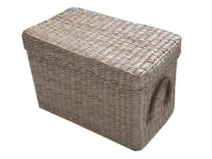 aufbewahrungskorb mit deckel in verschiedenen gr en erh ltlich l. Black Bedroom Furniture Sets. Home Design Ideas