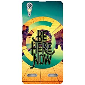 Lenovo A6000 Printed Mobile Back Cover