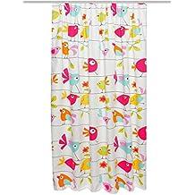 Home fashion 85491-104 cortina, 175 x 130, diseño, multicolor, Color