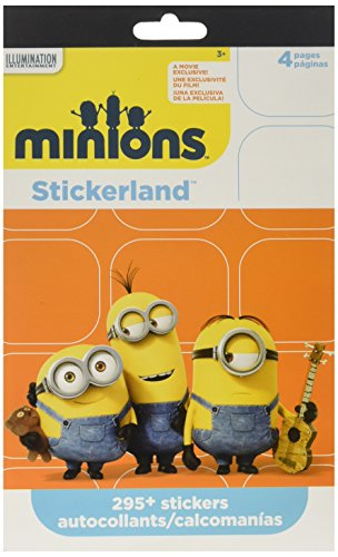 Minions Stickers Party Favors ~ 295 Reward Stickers (Minions Party Favors)